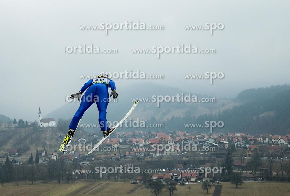 LEMARE Lea (FRA)  during 2nd Round at Day 2 of World Cup Ski Jumping Ladies Ljubno 2017, on February 12, 2016 in Ljubno ob Savinji, Slovenia. Photo by Vid Ponikvar / Sportida