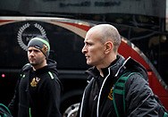 Northampton Saints' Interim Head Coach Alan Dickens arrives at the stadium <br /> <br /> Photographer Simon King/Replay Images<br /> <br /> EPCR Champions Cup Round 4 - Ospreys v Northampton Saints - Sunday 17th December 2017 - Parc y Scarlets - Llanelli<br /> <br /> World Copyright &copy; 2017 Replay Images. All rights reserved. info@replayimages.co.uk - www.replayimages.co.uk