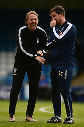 Bristol Rovers manager Darrell Clarke - Mandatory by-line: Alex James/JMP - 14/04/2017 - FOOTBALL - MEMS Priestfield Stadium - Gillingham, England - Gillingham v Bristol Rovers - Sky Bet League One
