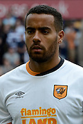 Tom Huddlestone during the Sky Bet Championship match between Wolverhampton Wanderers and Hull City at Molineux, Wolverhampton, England on 16 August 2015. Photo by Alan Franklin.