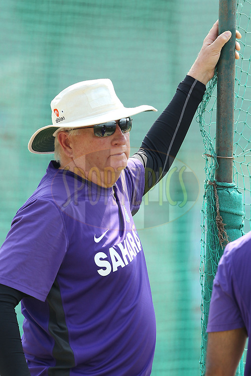 Duncan Fletcher during the Indian practice session held at the Sadar Patel Stadium in Ahmedabad, Gujarat, India on the 14th November 2012...Photo by Ron Gaunt/ BCCI/ SPORTZPICS