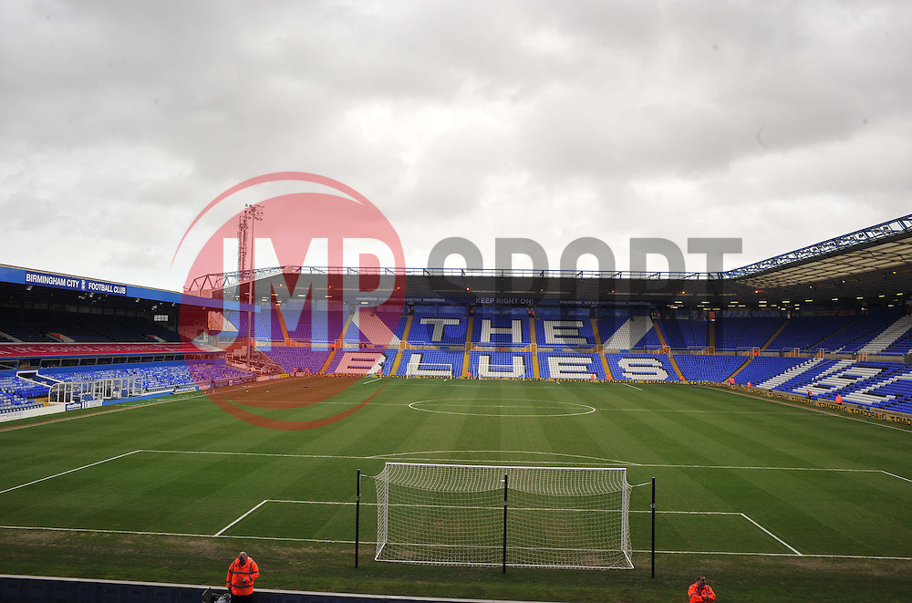 - Photo mandatory by-line: Alex James/JMP - Tel: Mobile: 07966 386802 25/01/2014 - SPORT - FOOTBALL - St Andrew's - Birmingham - Birmingham City v Swansea City - FA Cup - Forth Round