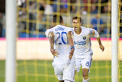 September 19, 2018 - San Jose, California, United States - San Jose, CA - Wednesday September 19, 2018: Chris Wondolowski, goal waved off during a Major League Soccer (MLS) match between the San Jose Earthquakes and Atlanta United FC at Avaya Stadium. (Credit Image: © Lyndsay Radnedge/ISIPhotos via ZUMA Wire)