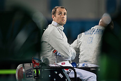 Romain Noble, FRA, Wheelchair Fencing, Escrime - Sabre Individuel at Rio 2016 Paralympic Games, Brazil