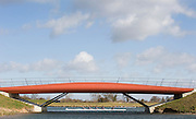 Eton, Great Britain, Bridges over the channel from the warm up lake. 2009 Scullery Dorney Lake, Eton Rowing Centre, 09.03.2009 [Mandatory Credit Peter Spurrier] Rowing Courses, Dorney Lake, Eton. ENGLAND