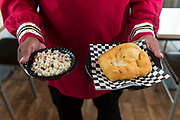 Story about unique Oklahoma food for Oklahoma Living Magazine. Cover shoot about Chickasaw food.