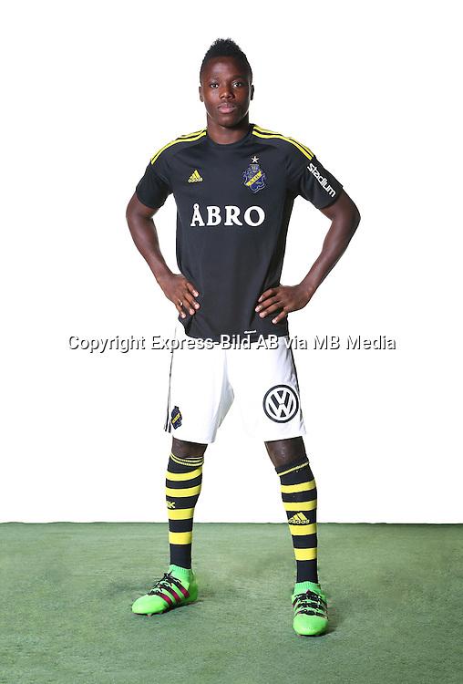 Patrick Kpozo<br /> Helfigur<br /> @Leverans<br /> Allsvenskan 2016<br /> Fotboll