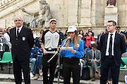 DESCRIZIONE : Roma Trofeo delle Regioni Cesare Rubini Kinder+Sport 2015 - Cerimonia di Apertura<br /> GIOCATORE : Francesco Martini Arbitro<br /> SQUADRA : FIP Federazione Italiana Pallacanestro <br /> EVENTO : Trofeo delle Regioni Cesare Rubini Kinder+Sport 2015 - Cerimonia di Apertura<br /> GARA : Trofeo delle Regioni Cesare Rubini Kinder+Sport 2015 - Cerimonia di Apertura<br /> DATA : 01/04/2015<br /> CATEGORIA : Conferenza<br /> SPORT : Pallacanestro <br /> AUTORE : Agenzia Ciamillo-Castoria/GiulioCiamillo