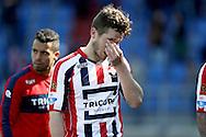 01-05-2016 VOETBAL:WILLEM II - FEYENOORDTILBURG<br /> Dries Wuytens van Willem II teleurgesteld na afloop van de wedstrijd <br /> <br /> Foto: Geert van Erven