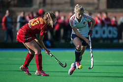 England's Sophie Bray. England v Belgium, Bisham Abbey, Marlow, UK on 09 May 2014. Photo: Simon Parker