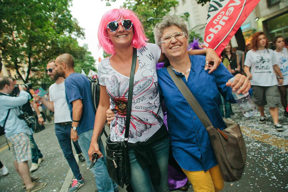 Onda Pride. Milano, 28 giugno 2014