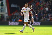 Alexis Sanchez (7) of Manchester United during the Premier League match between Bournemouth and Manchester United at the Vitality Stadium, Bournemouth, England on 3 November 2018.