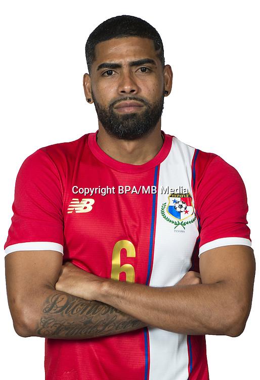 Football Conmebol_Concacaf - <br />Copa America Centenario Usa 2016 - <br />Panama National Team - Group D - <br />Gabriel Enrique Gomez