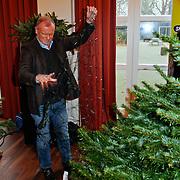 NLD/Amsterdam/20111208- Sky Radio Christmas tree for Charity, Evert Santegoeds