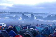 The Second stage, early morning at Glastonbury, 2005