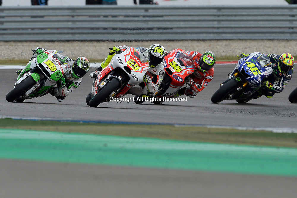 28.06.2014.  Assen, Netherlands. MotoGP. Iveco Daily TT Assen Race.Andrea Iannone (Pramac Racing) during the TT Assen race.