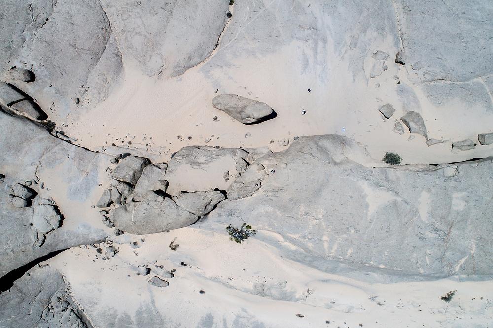 Vogelfederberg rock formation  in Namibia, Africa.