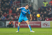 Wolverhampton Wanderers Kevin McDonald on the ball during the Sky Bet Championship match between Bristol City and Wolverhampton Wanderers at Ashton Gate, Bristol, England on 3 November 2015. Photo by Shane Healey.