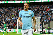 Danilo (3) of Manchester City during the EFL Cup Final match between Arsenal and Manchester City at Wembley Stadium, London, England on 25 February 2018. Picture by Graham Hunt.