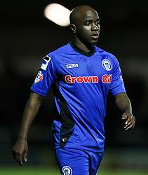 Rochdale's Fabian Brandy - Photo mandatory by-line: Matt McNulty/JMP - Mobile: 07966 386802 - 24/02/2015 - SPORT - Football - Rochdale - Spotland Stadium - Rochdale v Sheffield United - Sky Bet League One