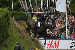 Thieme, Andre, Voigtsdorfs Quonschbob<br /> Hamburg - Hamburger Derby 2015<br /> 86. Deutsches Springderby<br /> © www.sportfotos-lafrentz.de/Stefan Lafrentz