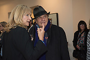 BARRY HUMPHRIES LIZZIE SPENDER, David Hockney , Painting and Photography. Annely Judah. Dering St. London. 14 May 2015.