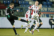 Onderwerp/Subject: Willem II - FC Groningen - Eredivisie<br /> Reklame:  <br /> Club/Team/Country: <br /> Seizoen/Season: 2012/2013<br /> FOTO/PHOTO: Danny GUIJT (R) of Willem II in duel with Maikel KIEFTENBELD (L) of FC Groningen. (Photo by PICS UNITED)<br /> <br /> Trefwoorden/Keywords: <br /> #04 $94 ±1355238911262 ±1355238911262<br /> Photo- & Copyrights © PICS UNITED <br /> P.O. Box 7164 - 5605 BE  EINDHOVEN (THE NETHERLANDS) <br /> Phone +31 (0)40 296 28 00 <br /> Fax +31 (0) 40 248 47 43 <br /> http://www.pics-united.com <br /> e-mail : sales@pics-united.com (If you would like to raise any issues regarding any aspects of products / service of PICS UNITED) or <br /> e-mail : sales@pics-united.com   <br /> <br /> ATTENTIE: <br /> Publicatie ook bij aanbieding door derden is slechts toegestaan na verkregen toestemming van Pics United. <br /> VOLLEDIGE NAAMSVERMELDING IS VERPLICHT! (© PICS UNITED/Naam Fotograaf, zie veld 4 van de bestandsinfo 'credits') <br /> ATTENTION:  <br /> © Pics United. Reproduction/publication of this photo by any parties is only permitted after authorisation is sought and obtained from  PICS UNITED- THE NETHERLANDS