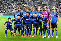 Team of AS Monaco pose for photographers prior the UEFA Champions League football match quarter-final, first leg, between FC Juventus and AS Monaco on April 14, 2015 at Juventus Stadium in Turin, Italy. Photo Massimo Cebrelli / DPPI