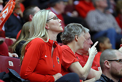 14 January 2017:  Melissa Muller during an NCAA  MVC (Missouri Valley conference) mens basketball game between the Wichita State Shockers the Illinois State Redbirds in  Redbird Arena, Normal IL