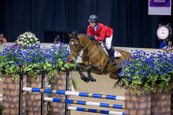 Madden Beezie, USA, Simon<br /> World Cup Final Jumping - Las Vegas 2015<br /> © Hippo Foto - Dirk Caremans<br /> 18/04/2015