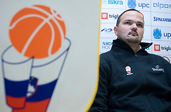Mario Kraljevic at press conference when announced that he is a new Slovenian director of Basketball National team, on November 25, 2008 in City Hotel, Ljubljana, Slovenia.  (Photo by Vid Ponikvar / Sportida)