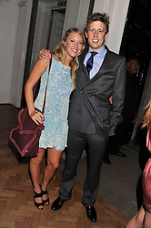 GEORGE FROST and ELIZA WINWOOD at the Quintessentially Awards at Number One Marylebone, London on 28th September 2011.