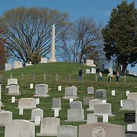 Arlington National Cemetery in Arlington, Virginia.