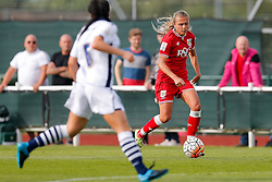 Claire Emslie of Bristol City Women in action - Mandatory byline: Rogan Thomson/JMP - 09/07/2016 - FOOTBALL - Stoke Gifford Stadium - Bristol, England - Bristol City Women v Milwall Lionesses - FA Women's Super League 2.