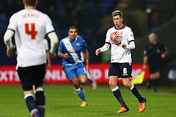 Josh Vela of Bolton Wanderers in action - Mandatory byline: Matt McNulty/JMP - 19/01/2016 - FOOTBALL - Macron Stadium - Bolton, England - Bolton Wanderers v Eastleigh - FA Cup Third Round