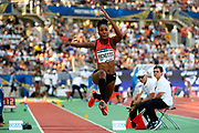 Shanieka Ricketts (JAM) competes in Triple Jump Women during the Meeting de Paris 2018, Diamond League, at Charlety Stadium, in Paris, France, on June 30, 2018 - Photo Julien Crosnier / KMSP / ProSportsImages / DPPI