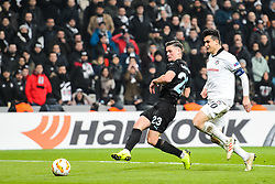 December 13, 2018 - Istanbul, Turkey - 181213 Marcus Antonsson of MalmÅ¡ FF scores 0-1 during the Europa league match between Besiktas and MalmÅ¡ FF on December 13, 2018 in Istanbul..Photo: Petter Arvidson / BILDBYRN / kod PA / 92175 (Credit Image: © Petter Arvidson/Bildbyran via ZUMA Press)