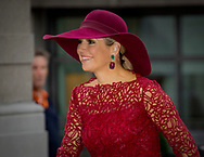 The Hague, 04-10-2017<br /> <br /> <br /> Queen Maxima opens the traveling exhibition 'Ten Tops on Tour'<br /> <br /> PUBLISH ONLY IN FRANCE<br /> <br /> Royalportraits Europe/Bernard Ruebsamen