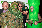 NEW YORK - OCTOBER 24: (L-R) Comedian Jackie Martling, Dr Chronic, Jeff Dowd and Bong Girl attend the 6th Annual High Times Stony Awards at B.B. King's on October 20, 2006 on Broadway in New York City.