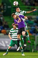 Wallyson / Yann Rolim  - 28.01.2015 - Sporting / Vitoria Setubal -Coupe de la ligue- Portugal-<br /> Photo : Carlos Rodrigues /  Icon Sport