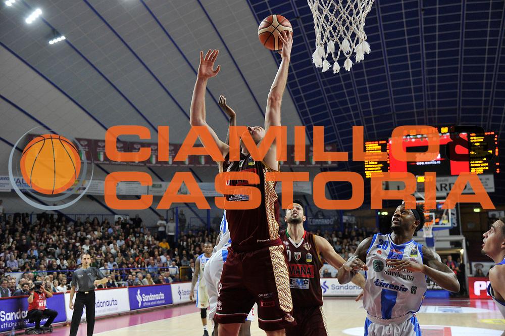 Peric Hrvoje<br /> Umana Reyer Venezia vs Banco di Sardegna Dinamo Sassari<br /> Lega Basket Serie A 2017/2018<br /> Venezia 26/12/2017<br /> Foto Ciamillo-Castoria/R. Gregolin