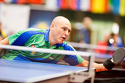 Ljubisa Gajic of Slovenia at 14th Slovenia Open - Thermana Lasko 2017 Table Tennis for the Disabled Factor 40, on May 6, 2017, in Dvorana Tri Lilije, Lasko, Slovenia. Photo by Urban Urbanc / Sportida