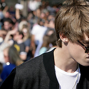 "Colin Ford from TV's ""Under the Dome"" is pictured during a pro film incentives rally Sunday May 4, 2014 in Wilmington, N.C. (Jason A. Frizzelle)"