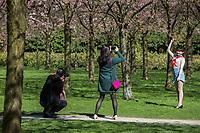 Het Bloesempark aan de rand van het Amsterdamse Bos