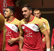 Tony Gigot of Catalan Dragons during the Catalan Dragons Captains Run ahead of the Ladbrokes Challenge Cup Final at Wembley Stadium, London<br /> Picture by Stephen Gaunt/Focus Images Ltd +447904 833202<br /> 24/08/2018