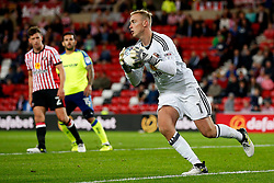 Jason Steele of Sunderland - Mandatory by-line: Matt McNulty/JMP - 04/08/2017 - FOOTBALL - Stadium of Light - Sunderland, England - Sunderland v Derby County - Sky Bet Championship