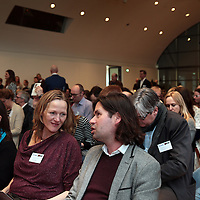 Nederland, Amsterdam , 26 maart 2015.<br />  Buzzcapture en ANP organiseren samen Buzz15. Hét jaarlijkse evenement voor klanten en prospects: marketing-communicatie managers, woordvoerders, corporate communicatie managers en CEO's in de Hermitage.<br /> Op de foto:: Welkom met Lars Sorenson<br /> Foto:ANPinOpdracht/Jean-Pierre Jans