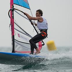 2012 Olympic Games London / Weymouth<br /> RSX man racing day 1 <br /> RS:X MenPOLMiarczynski Przemyslaw