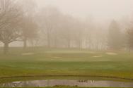 Tedesco golf course on a foggy November day.