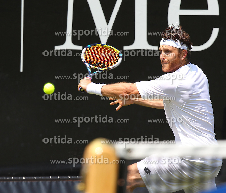 07.06.2015, Tennis Club Weissenhof, Stuttgart, GER, ATP Tour, Mercedes Cup Stuttgart, im Bild Michael Berrer ( GER ) // during the Mercedes Cup of ATP world Tour at the Tennis Club Weissenhof in Stuttgart, Germany on 2015/06/07. EXPA Pictures &copy; 2015, PhotoCredit: EXPA/ Eibner-Pressefoto/ Langer<br /> <br /> *****ATTENTION - OUT of GER*****